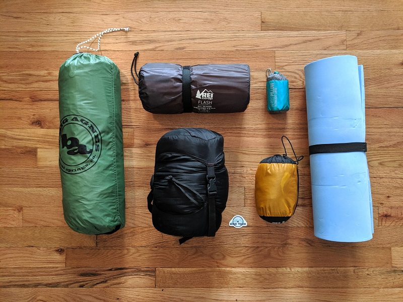 Gear list - sleep system