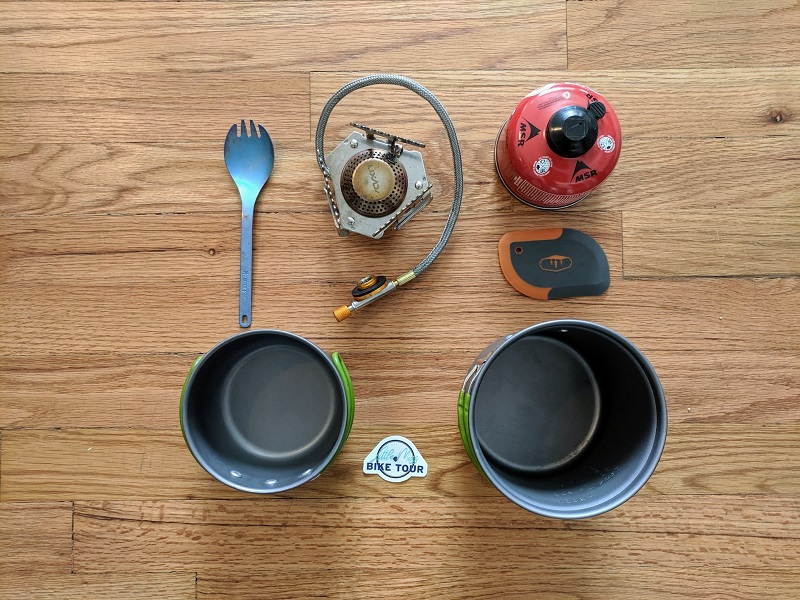 Gear list cookware
