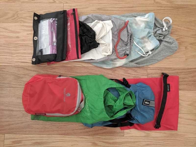 gear list bags