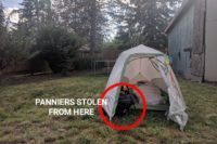Eugene, Oregon: Where My Panniers Got Stolen from a Backyard