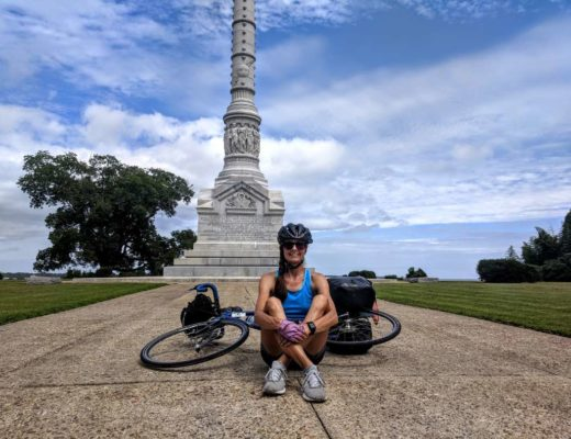 Yorktown, Virginia: The Endpoint of My TransAmerica Bicycle Route