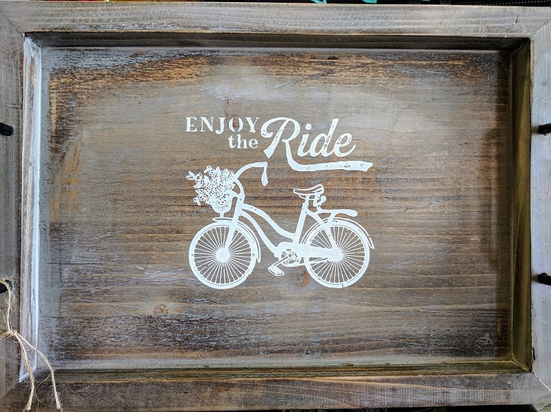 Enjoy the ride bicycle art