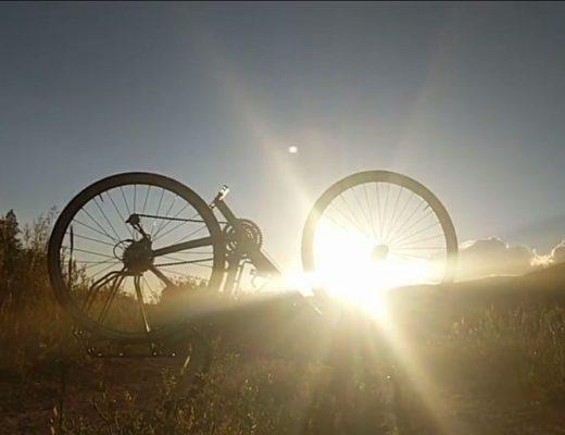 bike tour sunset