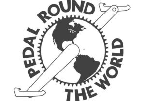 pedal round the world logo